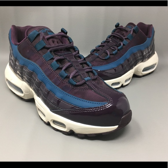 Nike Air Max 95 SE Premium PRM Wine-Space Blue 082ac87b9c9